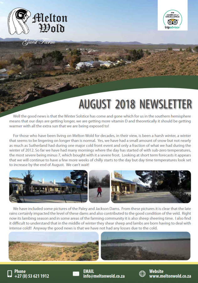 August news cover 2018
